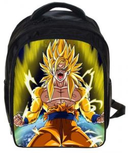 Anime Dragon Ball Wukong Children s School Backpack Trend Casual Large  Capacity Student Bag 60a1160220f11