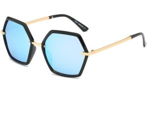 7cde3f3be03 personality Polygonal Polarized Sunglasses for men and women