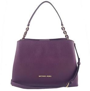 37c9d9396b11 Michael Kors 35F8GO5S7L SOFIa Portia Large EW Saffiano Leather Satchel Bag  -DaMSON
