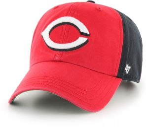881e2d0a9  47 MLB Cincinnati Reds Flagstaff Clean Up Hat