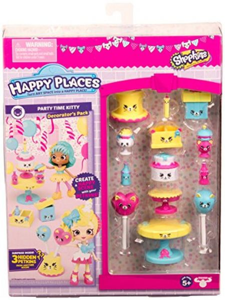 Shopkins Happy Places Season 3 Decorator - Party Time Kitty