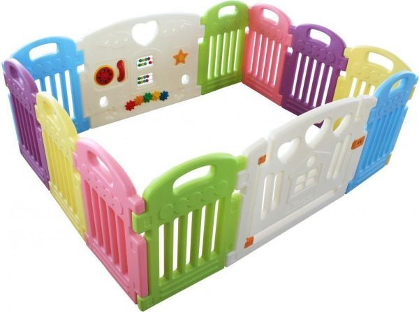 a76d6817b RBWTOY Baby Playpen Kids Activity Centre Safety Play Yard With 12 ...