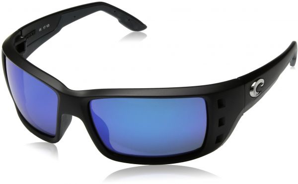 222933d226aa2 Costa del Mar Unisex-Adult Permit PT 11 OBMGLP Polarized Iridium Wrap  Sunglasses