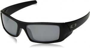 6f73bb8038 Oakley Men s 12-856 Gascan Iridium Polarized Rectangular Sunglasses