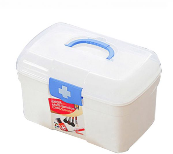 Large Medicine Kit Box Medical Boxes Plastic Container Multi Layer