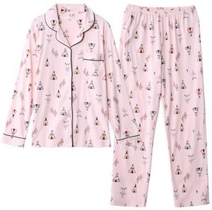 Full cotton of sleepwear set for women 6d77216bd