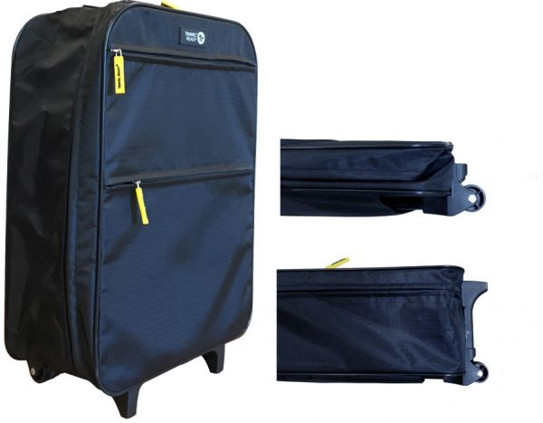 Travel Ready Collapsible Cabin Approved Ultra-Lightweight 2 Wheel Trolley  Bag  37ea524bdb672