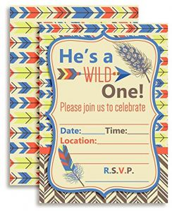Buy Cards Tribal Birthday Party