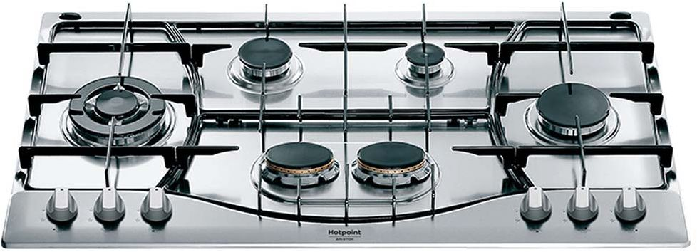 Ariston Built-In Gas Hob PHN 962 TS/IX/A Stove - Silver