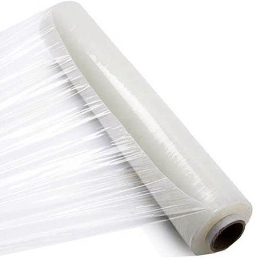 Transparent Stretch Wrap Film - Plastic Wrapping Roll - 300 meters - 2600Gms