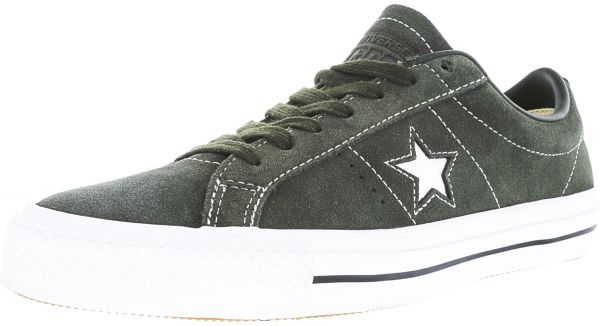 413a942026d Converse One Star Pro Ox Sequoia   White Ankle-High Suede Fashion ...