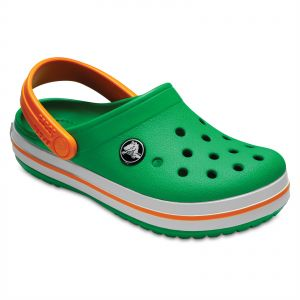 f008560d3 Crocs Crocband clogs for Kids - Grass Green Blazing Orange
