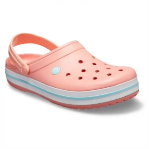 e1e830aa31457 Crocs Crocband Unisex clogs - Melon Ice Blue