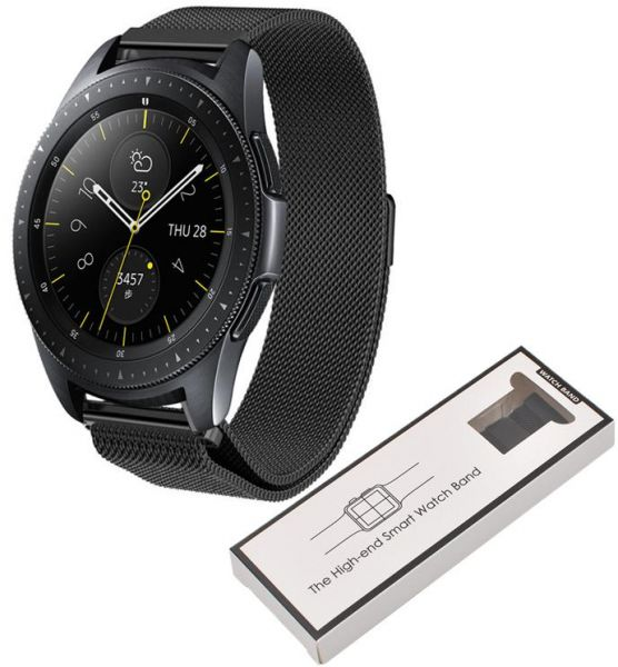 Samsung 2018 Galaxy Watch 42mm Milanese Loop Band Strap Replacement