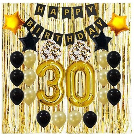 30th Birthday Decorations Gifts For Her HimMen Women