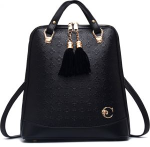 b994b43fc25fb Backpack Female PU Leather Bag Fashion Trend Large Capacity Shoulder Bag  Solid Color Simple Casual All Match Backpack