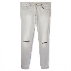 1c0c75060dd0de Stradivarius Ripped Jeans for Women - Grey