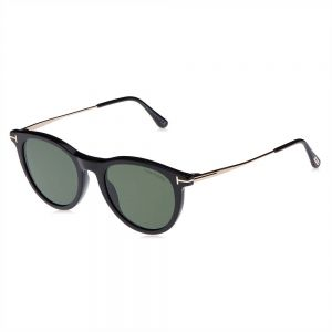 4a047f4d22dfc Tom Ford Wayfarer Unisex Sunglasses - Green Lens