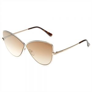 c97bc8aba1159a Tom Ford Butterfly Sunglasses for Women - Brown Lens