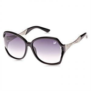 d37fe593e1d Swarovski Oversized Sunglasses for Women - Purple Lens