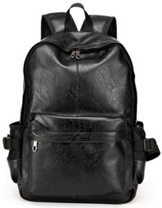f52481eee0c young college students fashion backpack men and women PU leather fashion  trend men backpack School Bags