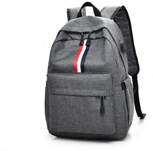 59cf22765a Backpack Bag with USB Charging Port Laptop Computer Bag College School  Travel Hiking anti Theft Backpack Bag for Men