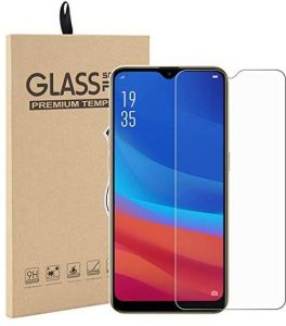 9H Tempered Glass Screen Protector For Oppo A7 - Clear