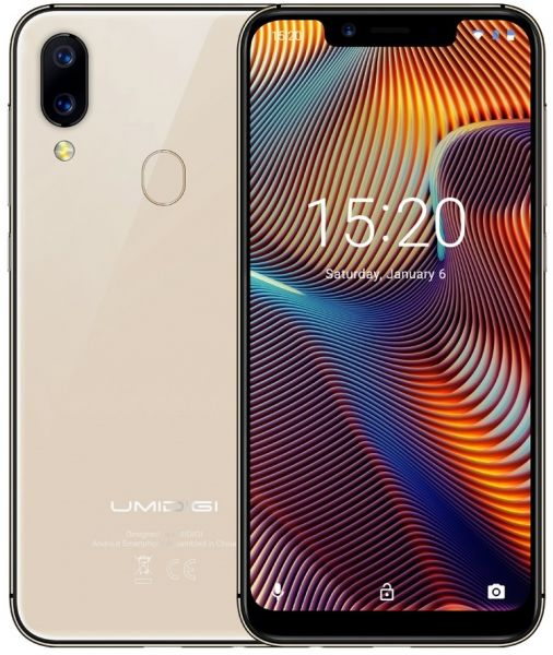 UMIDIGI A3 Pro Mobile Phone Dual 4G VoLTE 5.7inch 3GB RAM 32GB ROM Face Unlock 12MP and 5MP Android 8.1