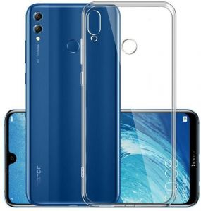 l'ultimo be566 043a4 Back Case Cover Silicone For Huawei y7 prime 2019 - Clear