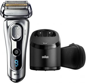 Braun Series 9 9290cc Electric Wet   Dry Foil Shaver With Clean   Charge  Station 56ad3d1b00a