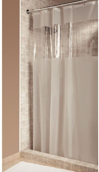 InterDesign Hitchcock Shower Curtain Long 72 X 84 Frost By Curtains Accessories