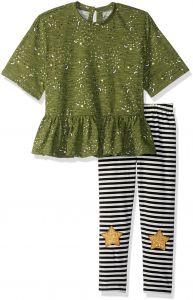 fb47ded65a0 Jessica Simpson Toddler Girls  Moons Fashion Top and Legging Set