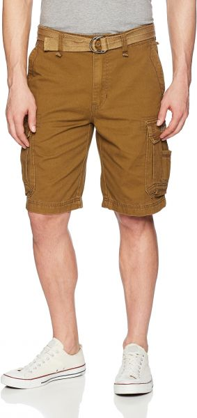 d3ce1f4bab UNIONBAY Men's Survivor Belted Cargo Short-Reg and Big and Tall ...