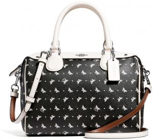 be297df2aa57 Coach Mini Bennett Satchel Butterfly Dot Print F29806 SVA16