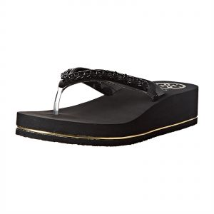 71bf93b008c5 Guess Wedges Sandal for Women - Black