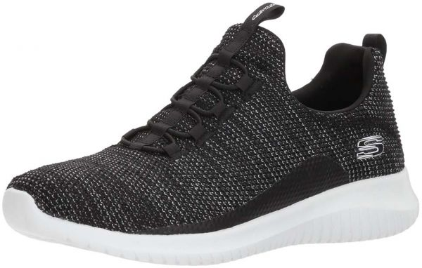 af09ef4b9d3f Skechers Sports Ultra Flex Capsule Sneakers for Women - Black White ...