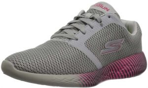 7b5be5725558 Skechers Go Run 600 Spectra Sports Sneakers for Women - Charcoal Pink