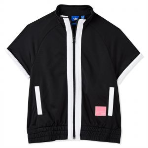 3bd6abfe55e7 Adidas Originals Eqt Firebird Vest Sports Jacket for Women - Black White