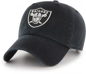 timeless design b7cec 413aa OTS NFL Oakland Raiders Challenger Clean Up Adjustable Hat, Black, One Size
