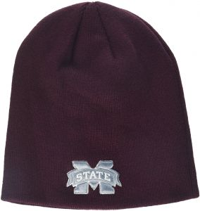 0660eded2fa Zephyr NCAA Mississippi State Bulldogs Adult Men Edge Knit Beanie