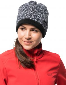 Jack Wolfskin Women s Belleville Crossing Windproof Fleece Beanie Hat 01e3d00958
