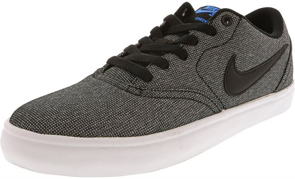 separation shoes 3fcbc 3230c Nike Sb Check Solar Black  - White Photo Blue Ankle-High Can