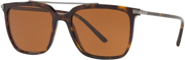 425888606af1 Dolce & Gabbana Rectangle Sunglasses for Men , Brown Lenses , 8053672825367