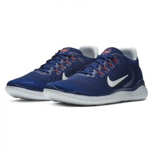 newest d0d77 9ffe5 Nike Free RN 2018 Running Shoes for Women - Blue Void White