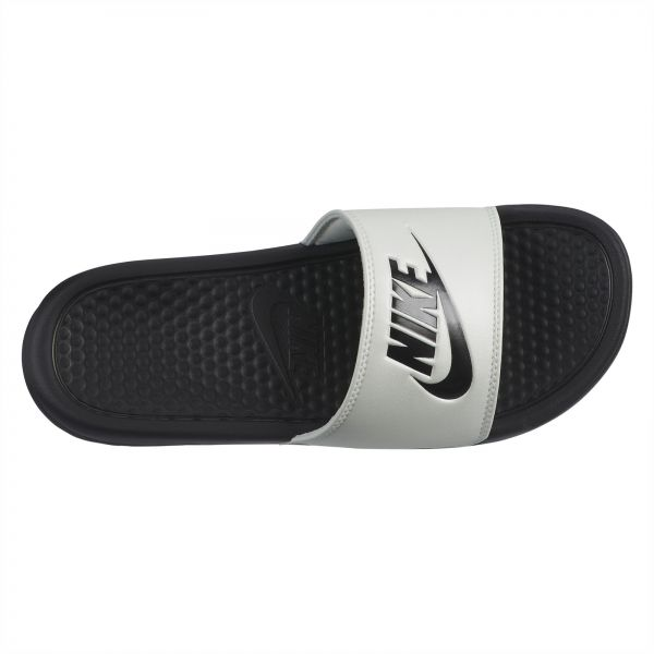 big sale c2a65 a0c6d Nike Benassi JDI Slide Slippers for Women - Spruce Aura Black   Souq - UAE