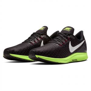 cb0d002aaab2 Nike Air Zoom Pegasus 35 Running Shoes for Men - Black Ash-Lime Blast