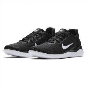 92f3f71616e0 Nike Free Rn 2018 Running Shoes for Women - Black White