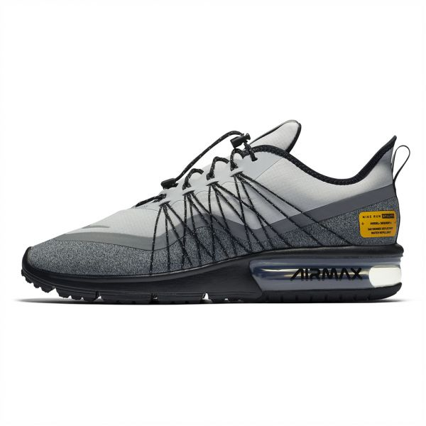 newest 2e154 21c66 Nike air Max Sequent 4 Utility Running Shoes for Men - Wolf Grey Reflect  Silver   KSA   Souq