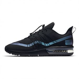 a7cdee73e339 Nike air Max Sequent 4 Utility Running Shoes for Men - Black Racer Blue