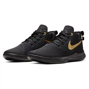 bb70711e709f Nike Lebron Witness III Basketball Shoes for Men - Black Metallic Gold
